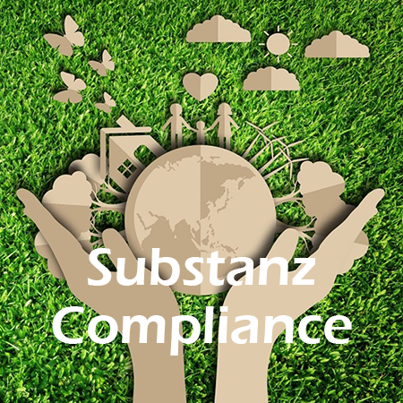 Lösungen-Button Substanz Compliance